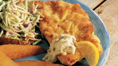 Lemon-Pepper Baked Orange Roughy (Cooking for 2)
