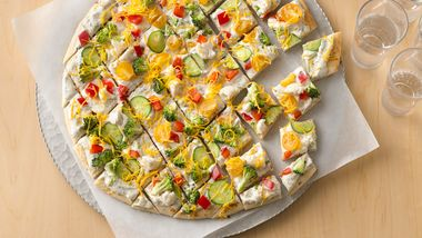 Festive Pizza Appetizers