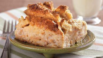 Maple Pecan Bread Pudding