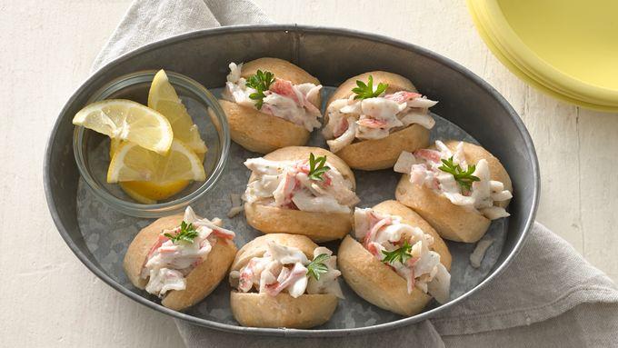 Mini Crab Rolls