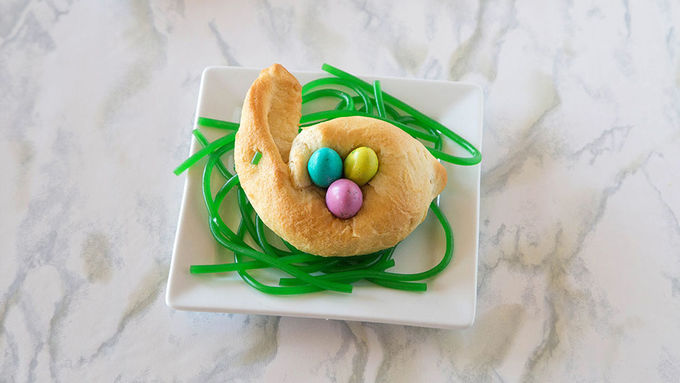 Candy-Filled Crescent Bunnies