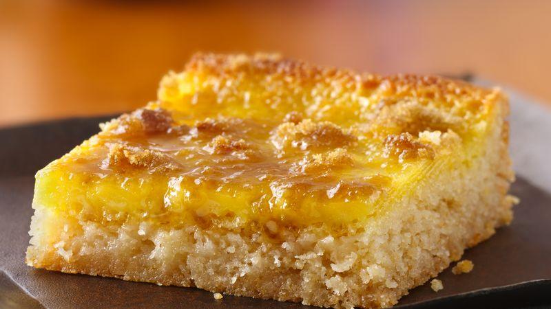 Crème Brûlée Squares