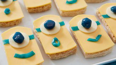 Minion Cheese Sandwiches