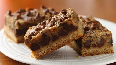 Mocha-Toffee Truffle Bars