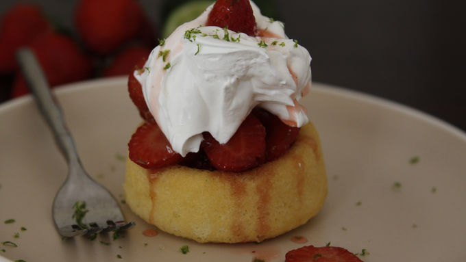 Strawberry Margarita Shortcakes