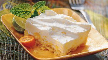 Tropical Frozen Yogurt Dessert