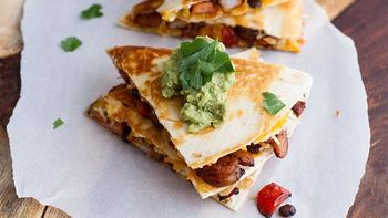 Spicy Cajun Shrimp Quesadillas