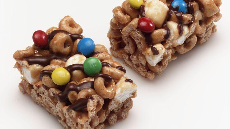 Gluten-Free Cheerios™ Caramel Crisp Cereal Bars