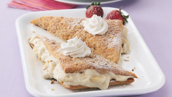 Banana Crème Pastries
