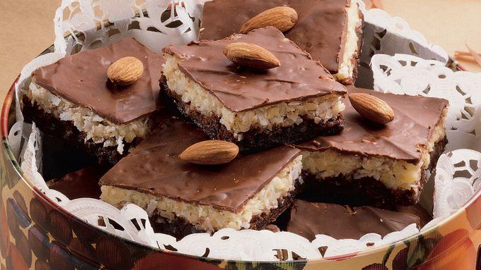 Almond Macaroon Brownies