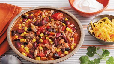 Smoky Pork Taco Soup