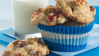 Cran-Orange and Date-Nut Cookies