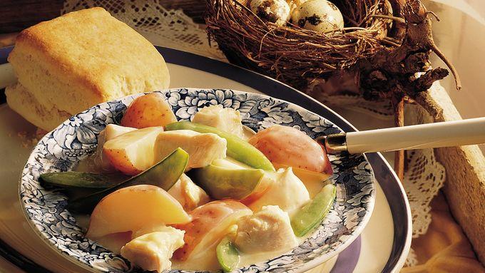 New Potato-Chicken Stew