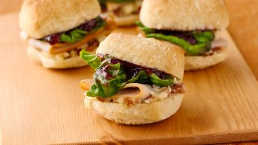Turkey and Cherry Sandwich Minis