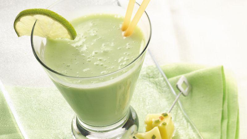 Key Lime-Banana Smoothie