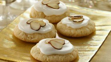 Glazed Almond Sugar Cookies