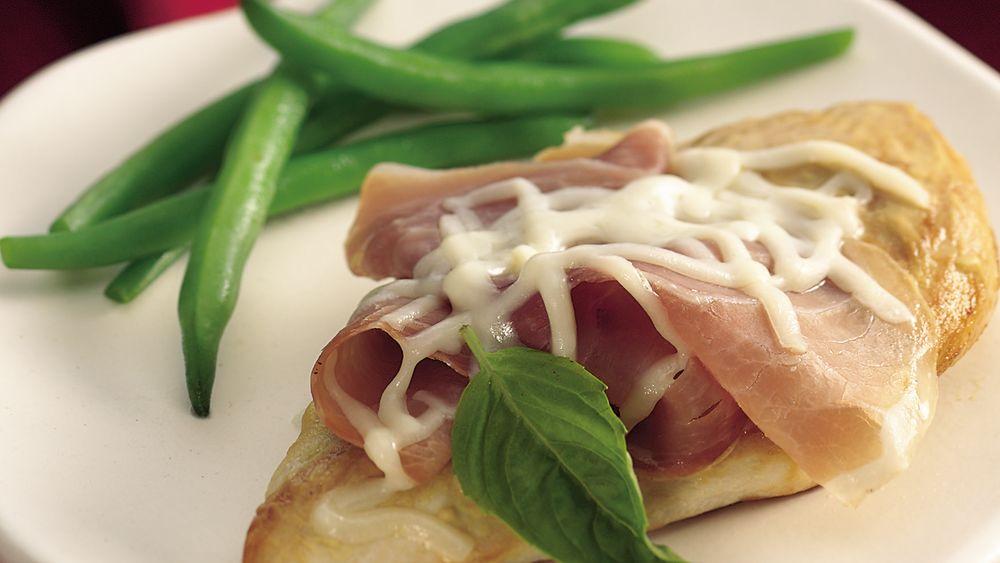 Basil and Prosciutto Chicken