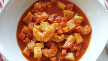Red Shrimp Soup