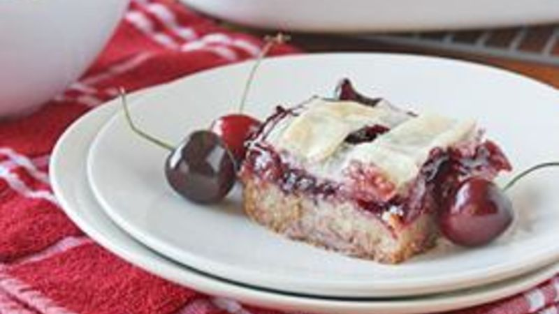 Lattice-Topped Cherry Pie Bars