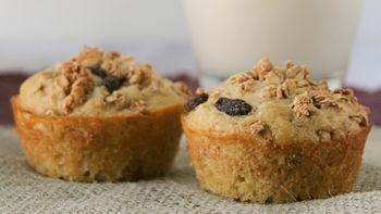 Crunchy Granola Muffins