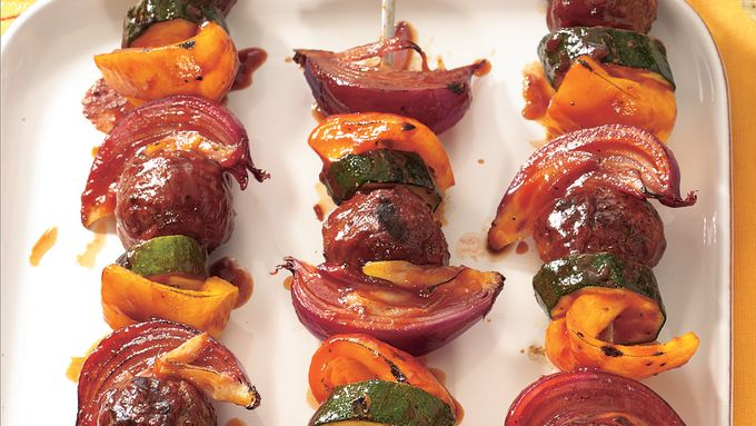 Blazin' Barbecue Kabobs