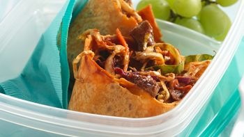 Beef and Cabbage Wraps