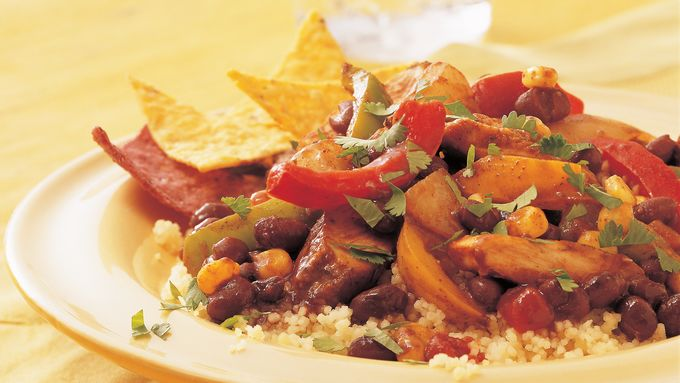 Southwest Chicken and Couscous