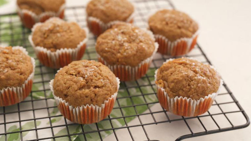 Whole-Wheat Carrot Muffins
