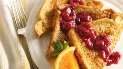 Whole-Grain Raspberry French Toast