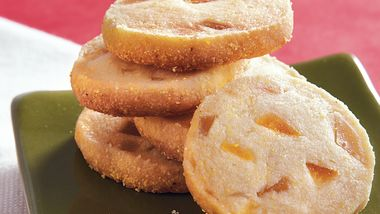 Citrus Cornmeal Shortbread