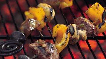 Easy Grilled Steak Kabobs