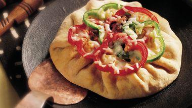 Spicy Sausage Pizza Pie