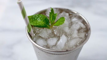 Ginger-Bourbon Mint Julep