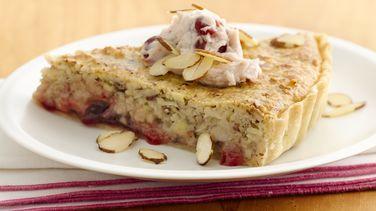 Cherry Almond Brunch Tart