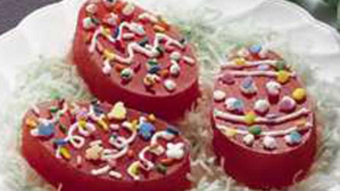 Jiggly Fruit Easter Egg Snacks