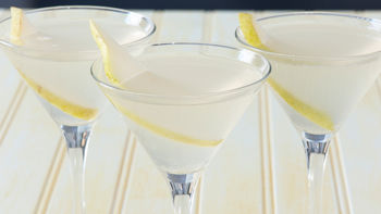 Pear Cosmopolitan Cocktail