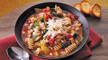 Italian Pasta-Bean Stew