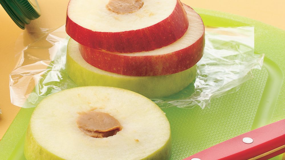 Apple Snack Stacks