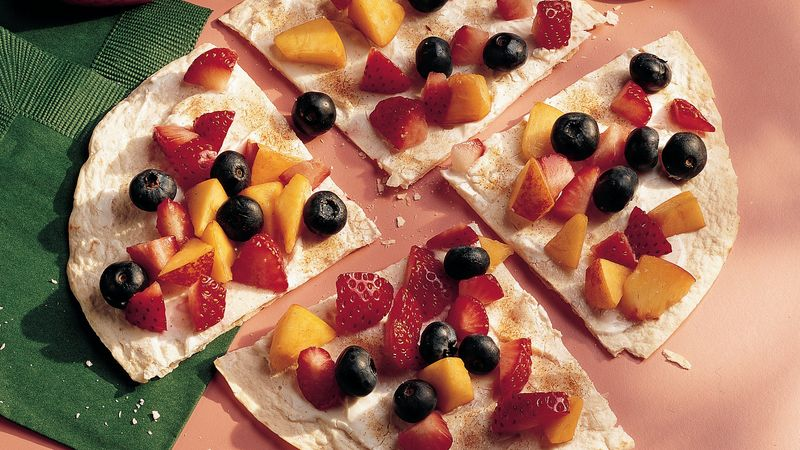 Tortilla Fruit Pizza