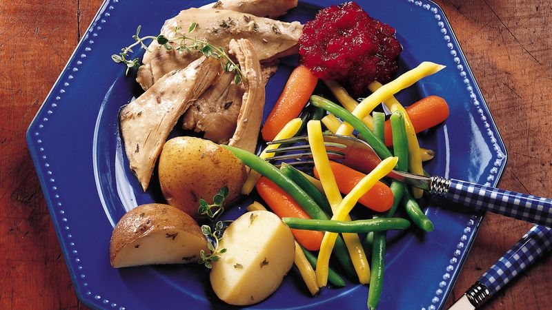 Slow-Cooker Home-Style Turkey Dinner