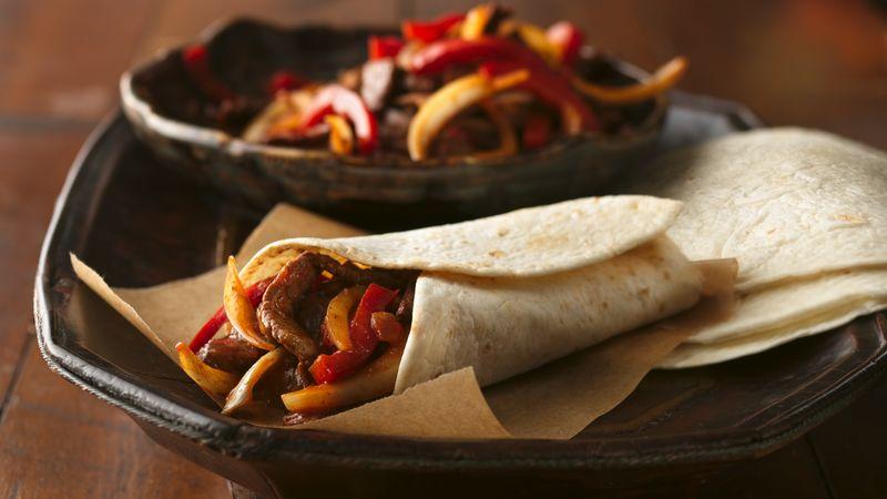 Beef Fajitas recipe from Betty Crocker