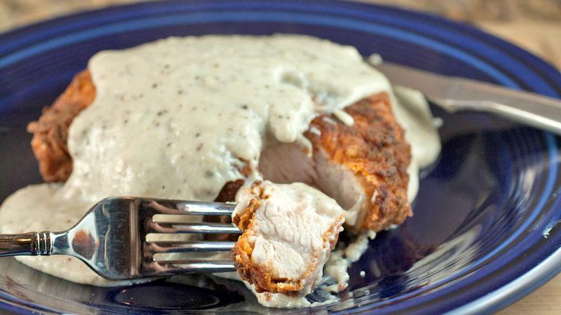 Chicken Fried Pork Chop