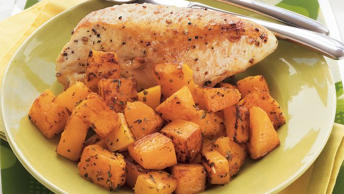 Chicken and Butternut Squash