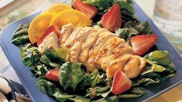 Spinach Waldorf Salad with Cinnamon-Apple Dressing Recipe - Pillsbury ...