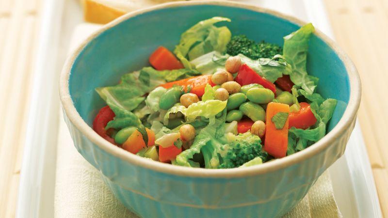 Edamame Stir-Fry Salad