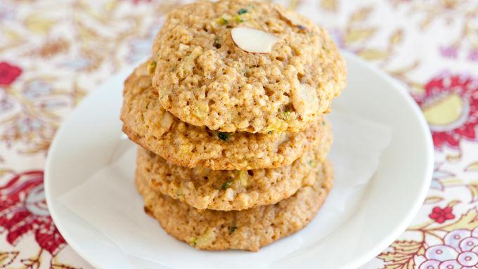 Zucchini Almond Cookies