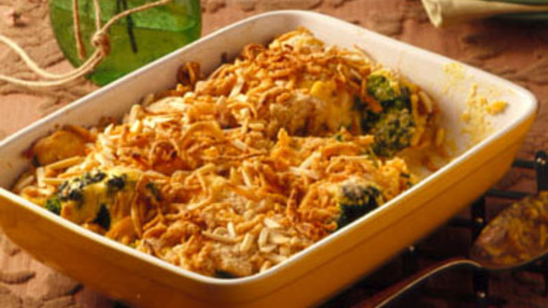 The Ultimate Chicken Casserole