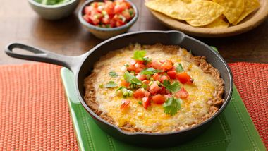 Easy Cheesy Bean Dip