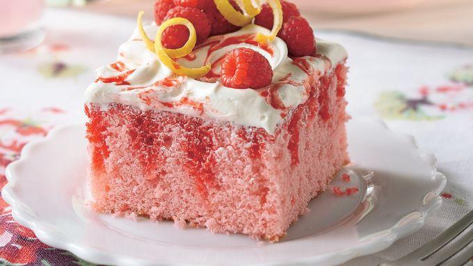 Raspberry-Lemonade Cake