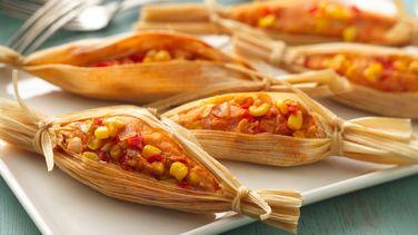 Tamales con Verduras